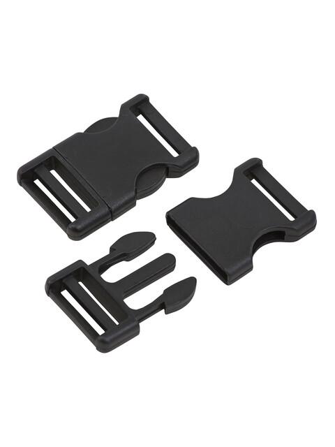 CAMPZ Verschlussschnalle - Sangle - 25mm noir